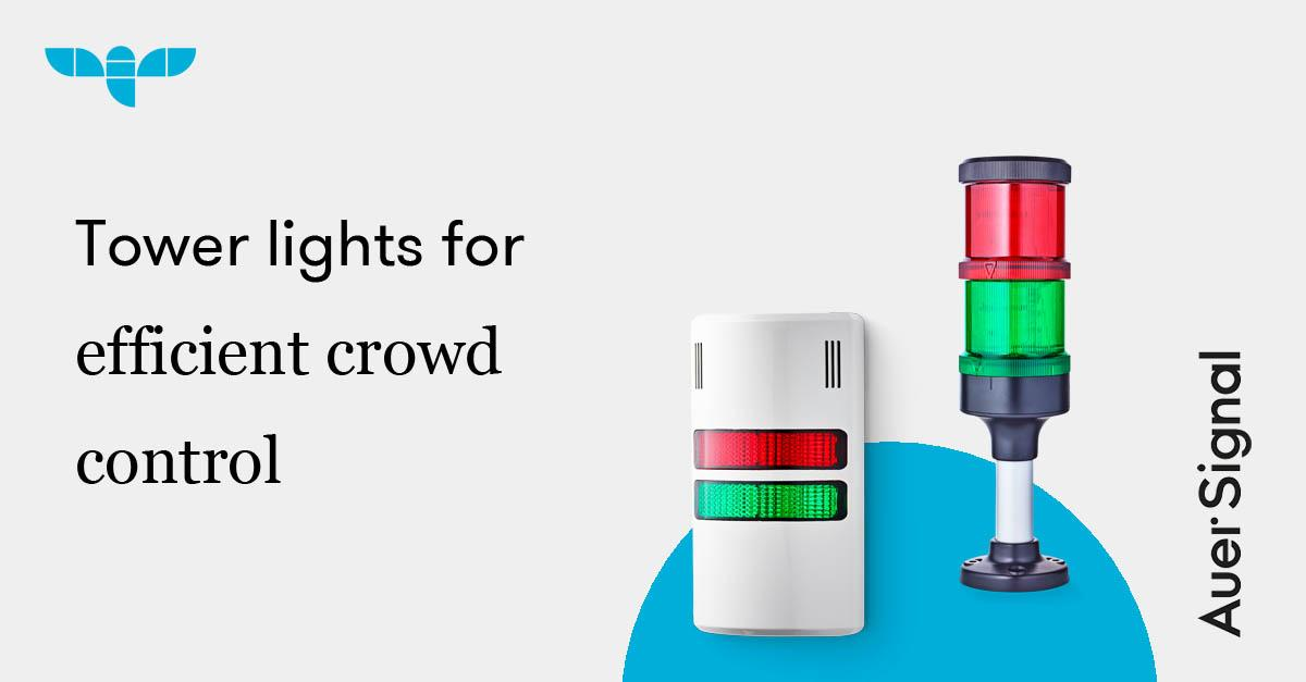 Sujet Tower lights for efficient crowd control
